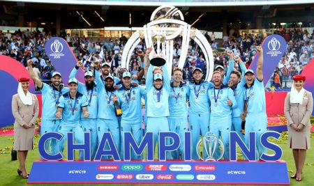 England lifts ICC Cricket World Cup