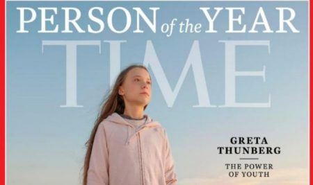 Climate crisis activist Greta Thunberg named Time's Person of the Year 2019